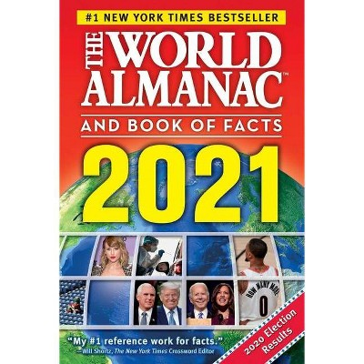 The World Almanac and Book of Facts 2021 - by  Sarah Janssen (Hardcover)