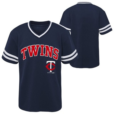 MLB Minnesota Twins Boys' Pullover Jersey