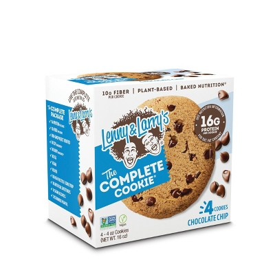 Lenny & Larry's Complete Vegan Cookie - Chocolate Chip - 4ct