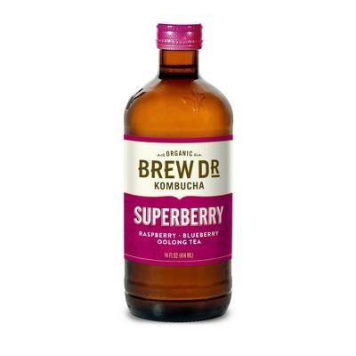 Brew Dr. Superberry Kombucha - 14 fl oz Bottle