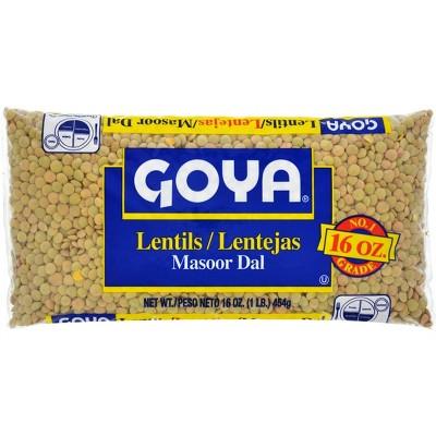 Goya Lentils - 16oz