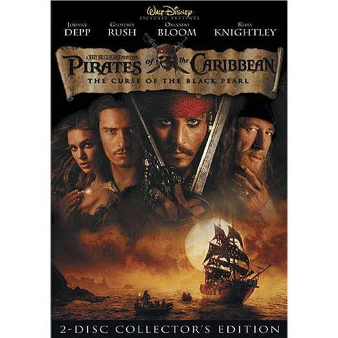 Pirates Of The Caribbean Curse Of The Black Pearl Dvd 2003 Target