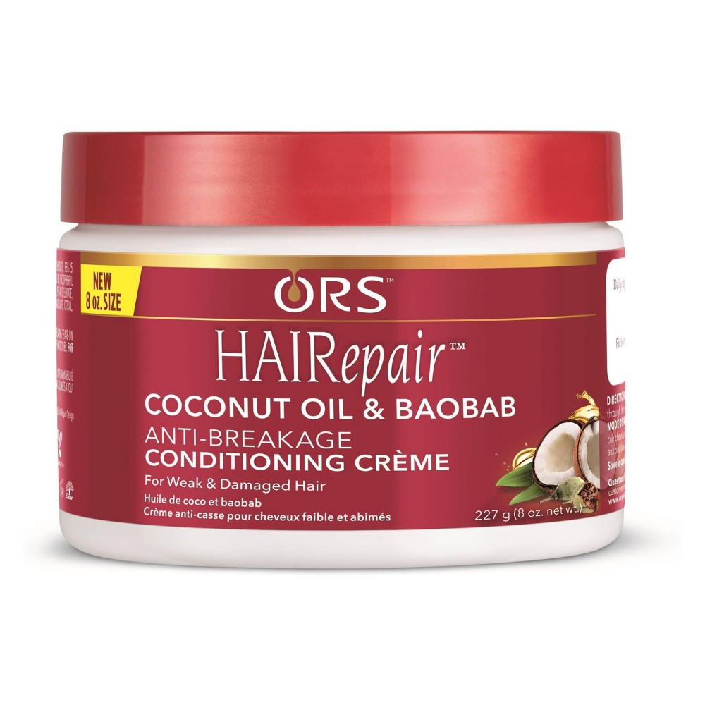 Image of ORS HAIRepair Coconut Oil & Baobab Anti-Breakage Conditioning Crème - 8oz