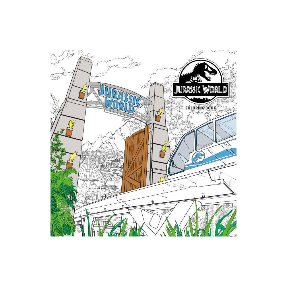 Jurassic World Adult Coloring Book By Nbc Universal Paperback