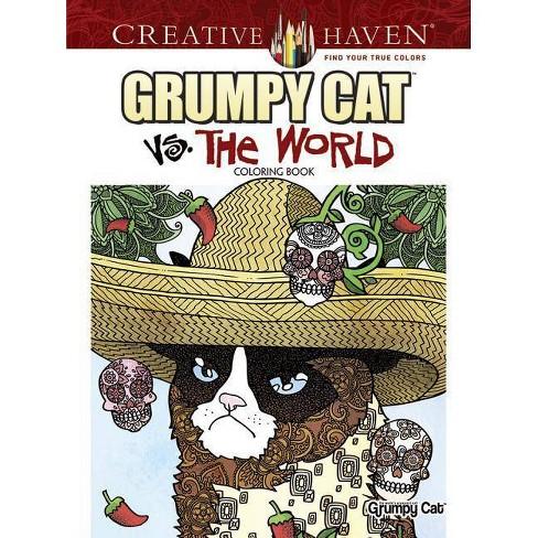 Creative Haven Grumpy Cat vs. the World Coloring Book - (Creative Haven Coloring Books) (Paperback) - image 1 of 1