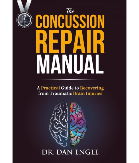 Concussion Repair Manual : A Practical Guide to Recovering from Traumatic Brain Injuries (Paperback) - image 1 of 1