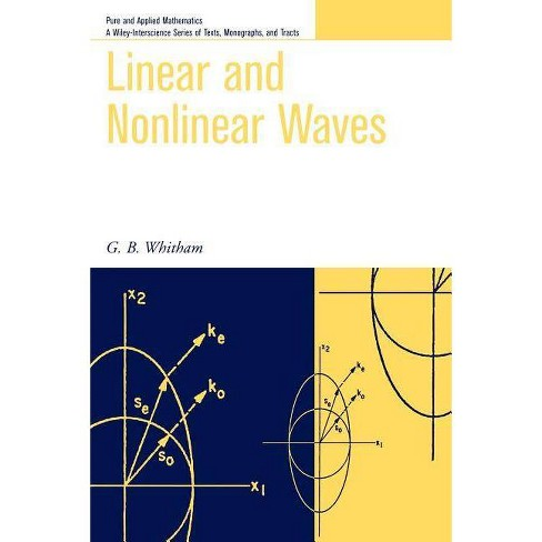Linear and Nonlinear Waves - (Pure and Applied Mathematics: A Wiley Texts,  Monographs and Tracts)