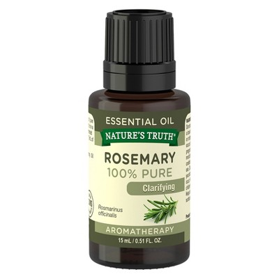 Nature's Truth Rosemary Aromatherapy Essential Oil - 15mL