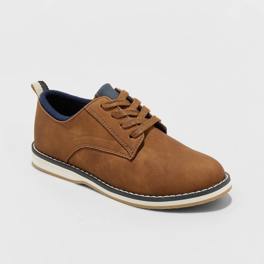Image of Boys' Vester Oxford Shoes - Cat & Jack Cognac 13, Brown