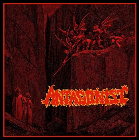 Antagonist - Damned & Cursed To Life On Earth (CD) - image 1 of 1