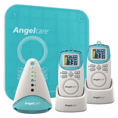 Angelcare Deluxe Movement and Sound Baby Monitor with Two Rechargeable Parent Units - AC401-2P