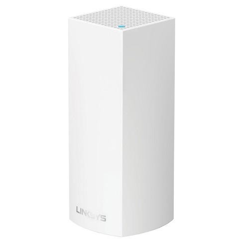 Linksys Velop AC2200 MU-MIMO Tri-Band Whole Home Wi-Fi, Bluetooth Enabled, Integrated with Amazon Alexa, 1-Pk - White (WHW0301) - image 1 of 4