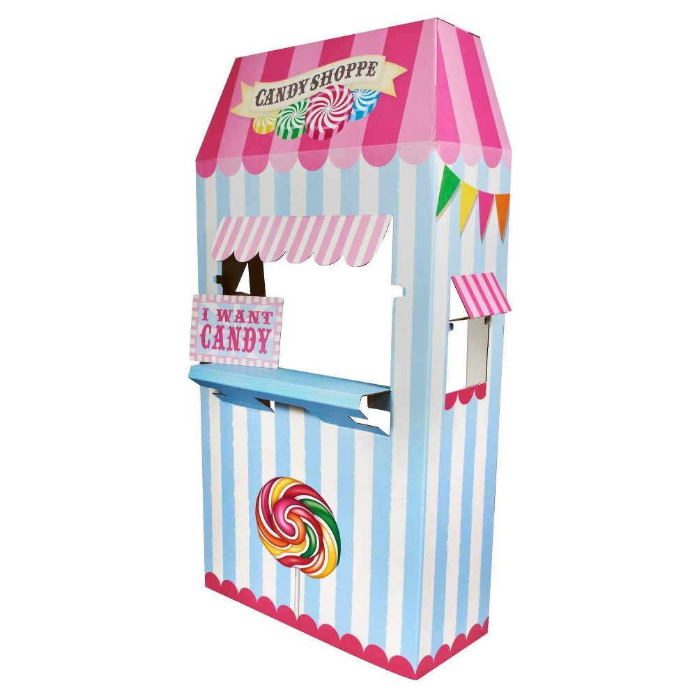 Candy Shoppe Cardboard Stand, Multi-Colored