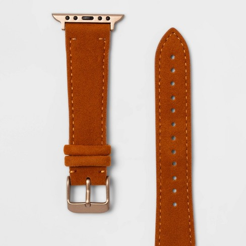 Apple Watch Faux Suede Band 38mm/40mm - Heyday™ Tan - image 1 of 2