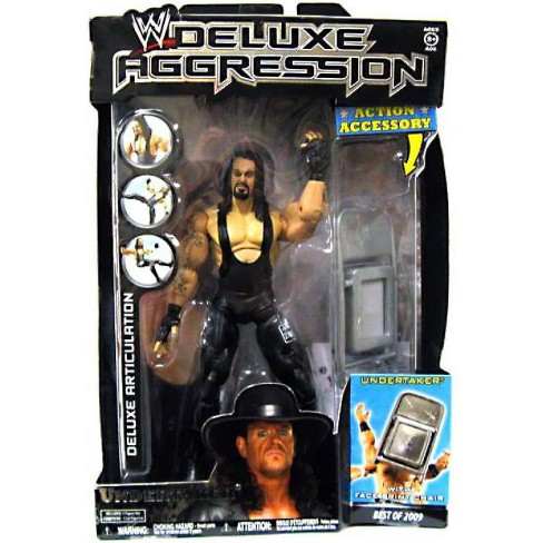 WWE Wrestling Deluxe Aggression Best of 2009 Undertaker Action Figure - image 1 of 2