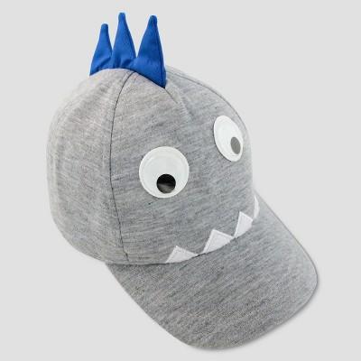 Baby Boys' Monster Baseball Hat - Cat & Jack™ Gray 12-24M