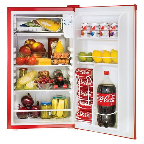 Nostalgia Coca-Cola Mini Refrigerator - Red 0826774091