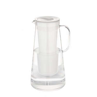 LifeStraw Home 7-Cup Water Filter Pitcher - White