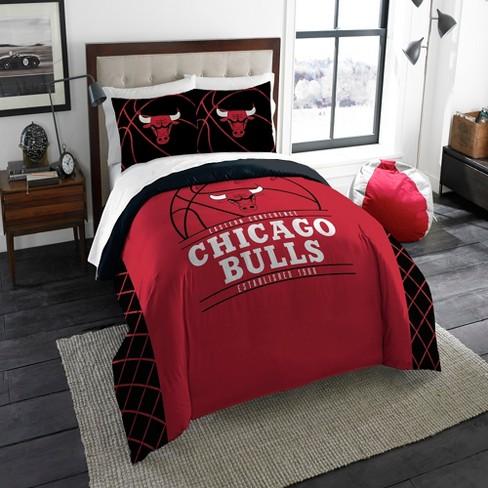 NBA Chicago Bulls Northwest Reverse Slam Full/Queen Comforter Set