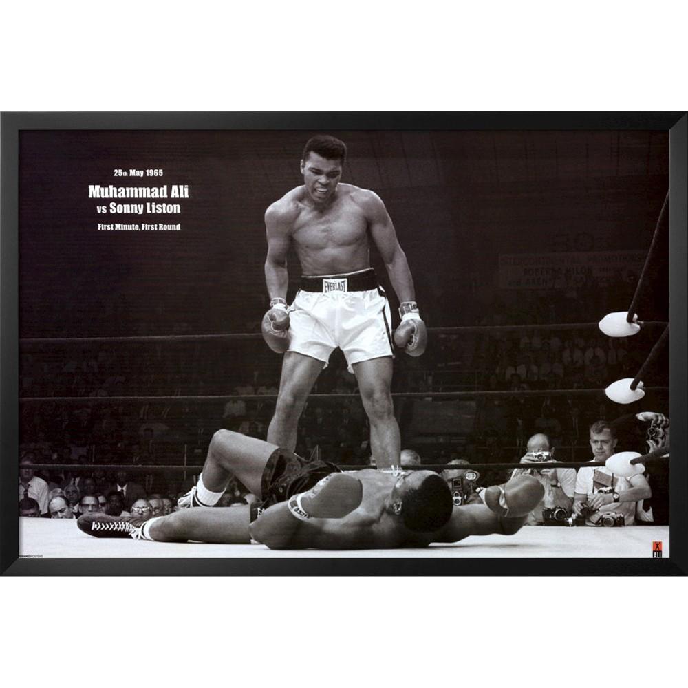 Art.com - Ali vs. Liston Framed Poster