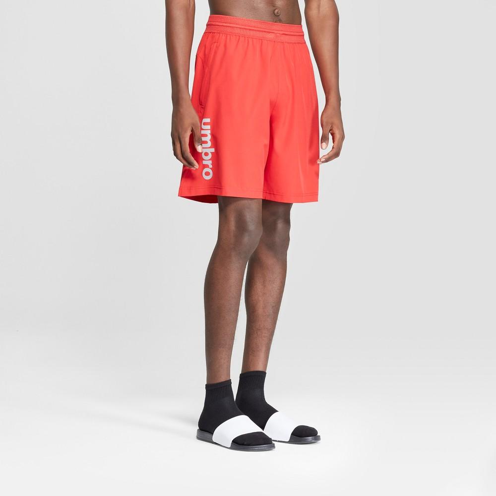 Umbro Men's Soccer Field Shorts - Red S