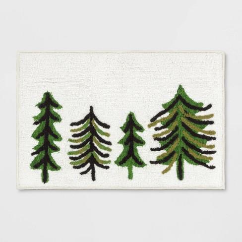 Garland Tree Rug Olive Green - Threshold™ - image 1 of 3