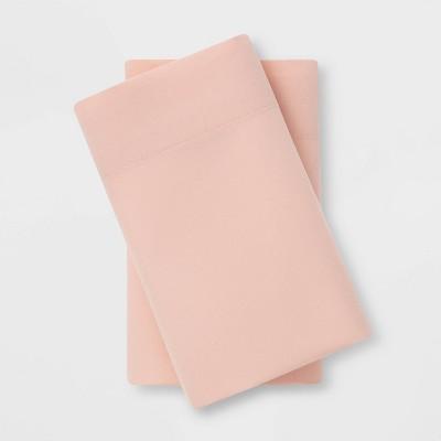 Standard Microfiber Pillowcase Set Blush - Room Essentials™