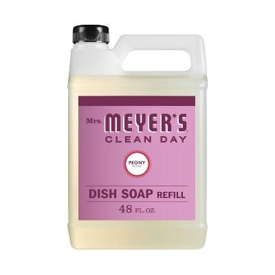 Mrs. Meyer's Peony Dish Soap Refill - 48 fl oz