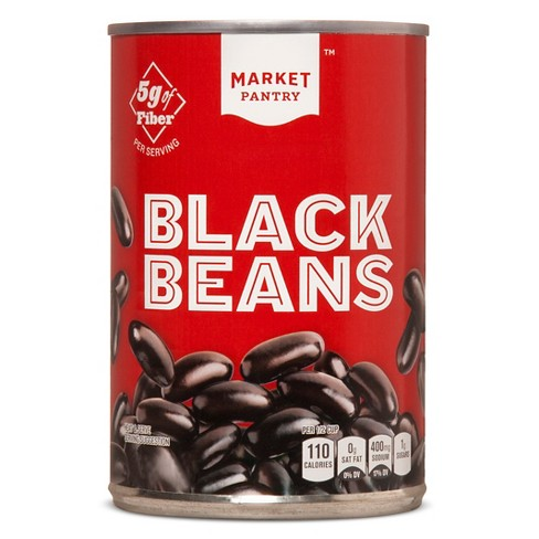 Black Beans 15.5 oz - Market Pantry™ - image 1 of 1