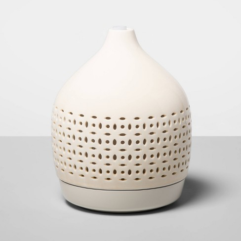 300ml Cutout Ceramic Color-Changing Oil Diffuser White - Opalhouse™ - image 1 of 4