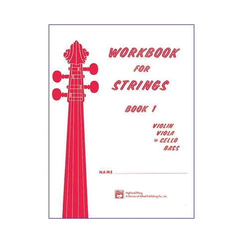 Alfred Workbook for Strings Book 1 Cello - image 1 of 1