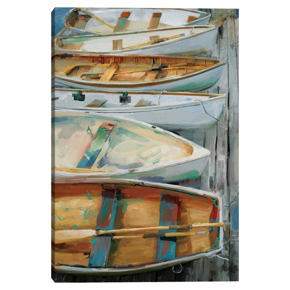 24 34 X 36 34 Dockside By Studio Arts Canvas Art Print Masterpiece Art Gallery