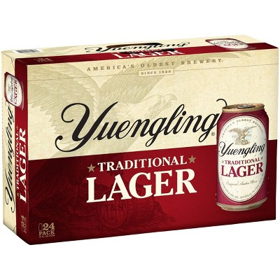 Yuengling Amber Lager Beer - 24pk/12 fl oz Cans