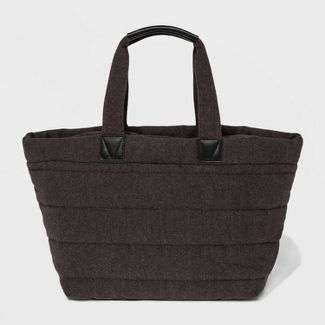 Woolen Weekender Bag - A New Day™ Charcoal