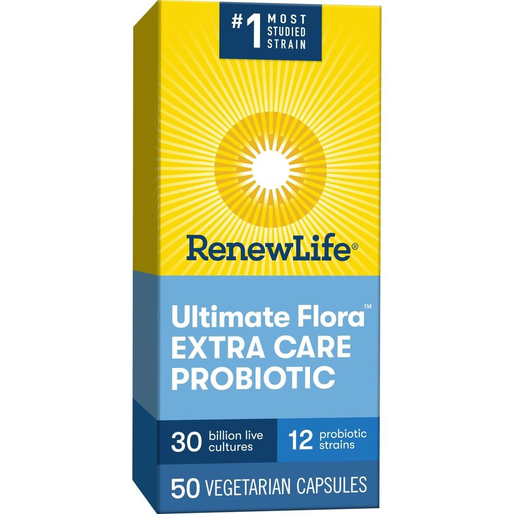 Renew Life Ultimate Flora Probiotic Extra Care 30 Billion Cfu 50ct