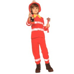 Northlight Firefighter Boys Halloween Children's Costume - Ages 4-6 Years