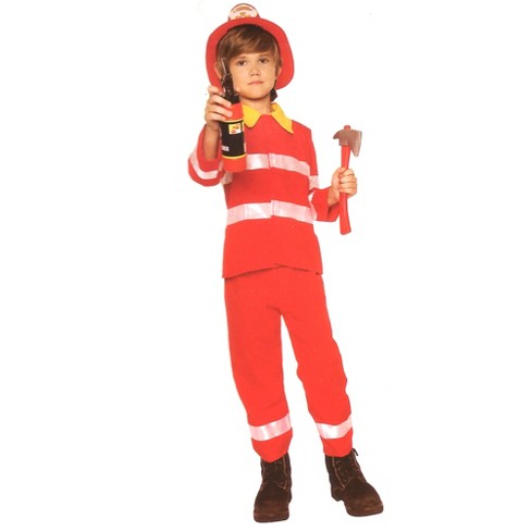 Northlight Firefighter Boys Halloween Children's Costume - Ages 4-6 Years - image 1 of 1