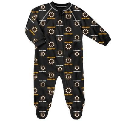 NHL Boston Bruins Infant Sleeper - 3-6M