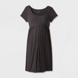 Maternity Short Sleeve A-Line T-Shirt Dress - Isabel Maternity by Ingrid & Isabel™