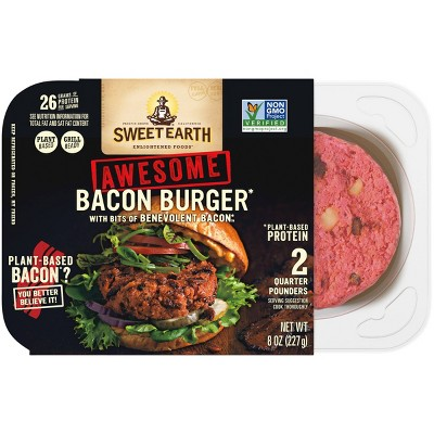 Sweet Earth Awesome Bacon Burger - 8oz