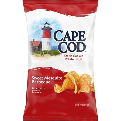 Cape Cod Sweet Mesquite BBQ Flavored Kettle Cooked Potato Chips - 8oz