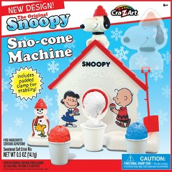 Snoopy Sno Cone Maker, real-food appliances