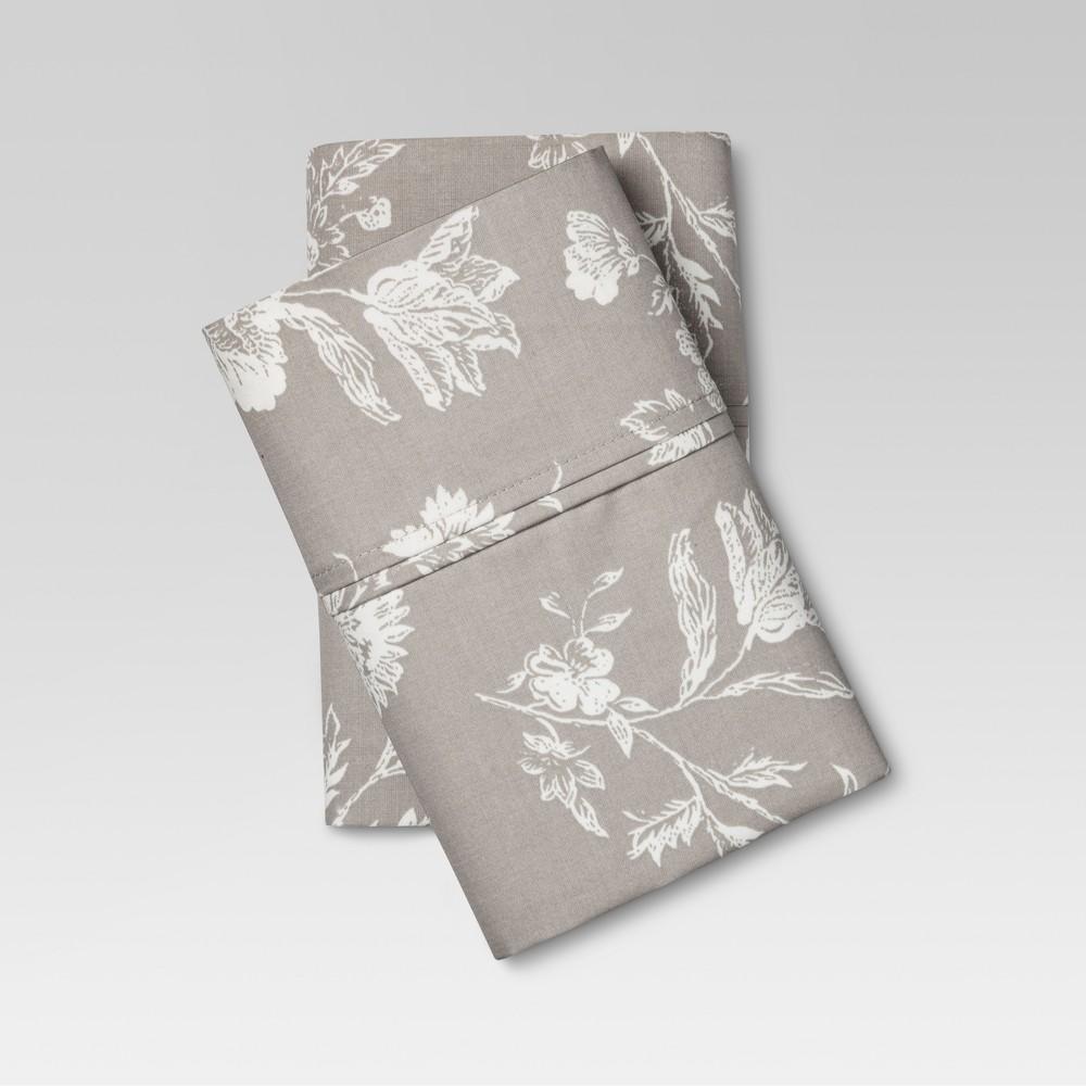 Performance Pillowcases King Khaki 400 Thread Count Threshold 8482