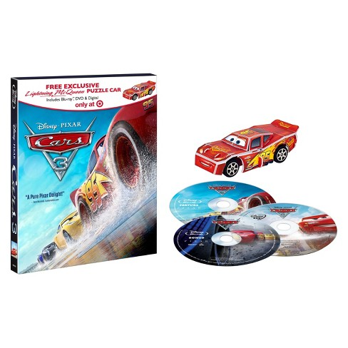 Cars 3 Target Exclusive Puzzle Car (Blu-ray + DVD) - image 1 of 1
