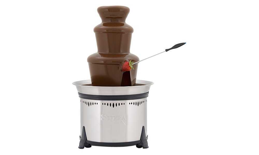 Image of Sephra Classic Home Fondue Fountain 18 - Stainless