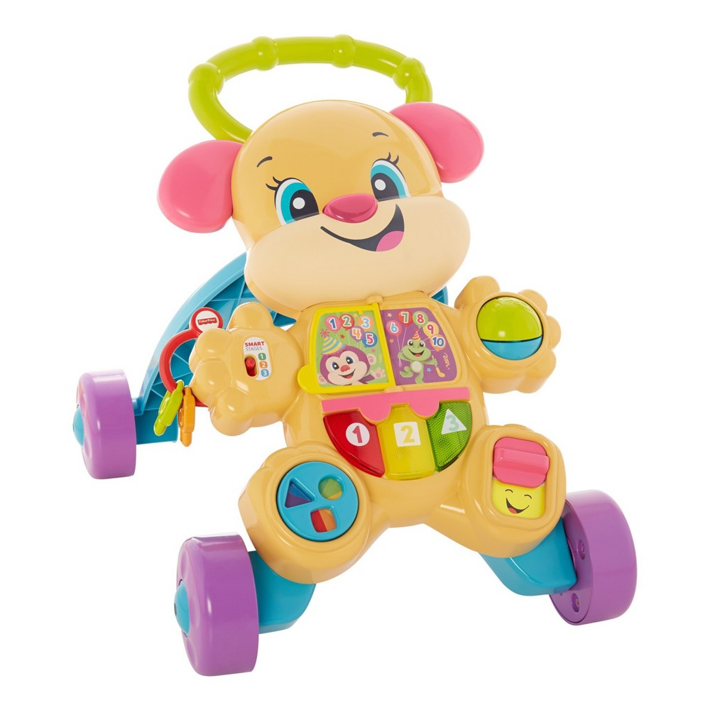 Fisher-Price Laugh and Learn Smart Stages Puppy Walker - Learn With Sis