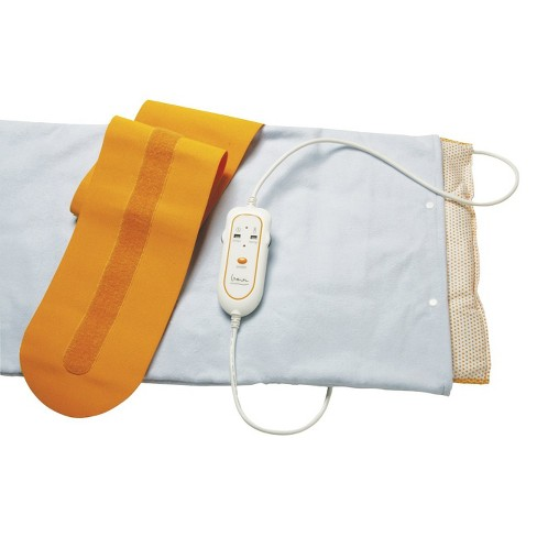 Drive Medical Therma Moist Heating Pad - White and Orange (Medium) - image 1 of 1