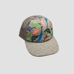 Baby Boys' Dino Baseball Hat - Cat & Jack™ Gray