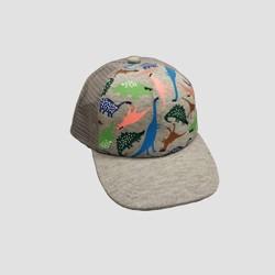 Baby Boys' Dino Baseball Hat - Cat & Jack™ Gray