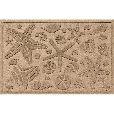 2'x3' Aqua Shield Beach Comber Indoor/Outdoor Doormat - Bungalow Flooring